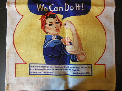 Linen Towel - ROSIE THE RIVETER - NEW from the Mill