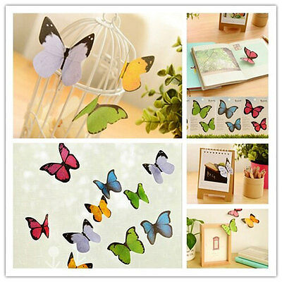 Cute Butterfly Sticker Post-It Bookmark Marker Memo Flags Index Tab Sticky Notes