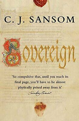 Sovereign: 3 (The Shardlake Series), Sansom, C. J. Paperback Book The Cheap Fast