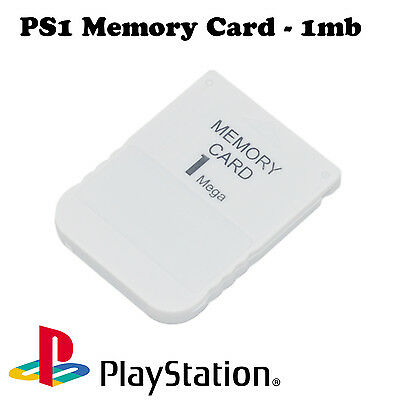 1MB 15 Block Memory Card For Sony PS1 Playstation 1 PSX Brand New