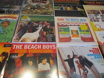 Beach Boys Pet Sounds Japan Replica  6 Obi Cd's + Vinyl Audiophile 8 Lps Set