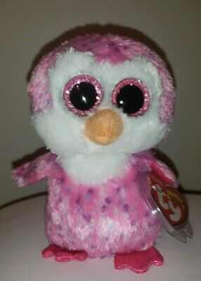 "Ty Beanie Boos ~ GLIDER the 6"" Penguin ~ 2015 European Exclusive NEW ~ IN HAND"