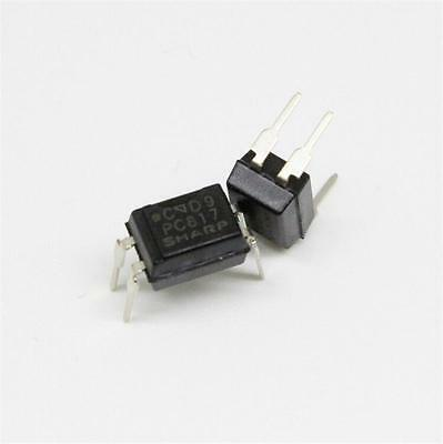 Hot Selling 10pcs PC817 PC817C EL817 817 Optocoupler SHARP DIP-4 New AA11
