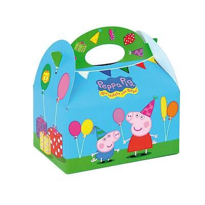 Peppa Pig Party Food Boxes x 6