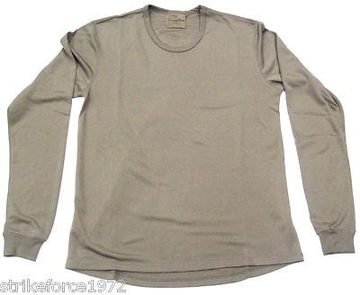 NEW - PCS Thermal Long Sleeve Base Layer Vest - Light Olive EXTRA LARGE 190/110