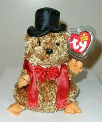 b5208127681 Ty Beanie Baby ~ PUNXSUTAWNEY PHIL 2007 the Groundhog (COC PA Exclusive)  MWMT