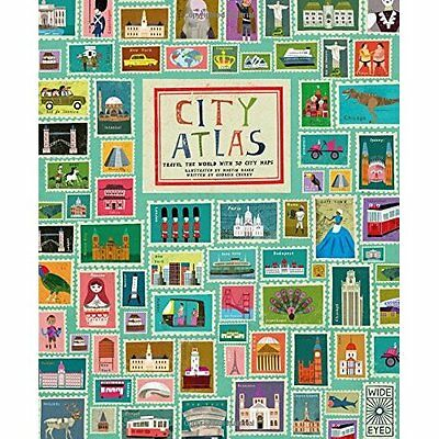 City Atlas: Discover the personality of the world's bes - Hardcover NEW Martin H
