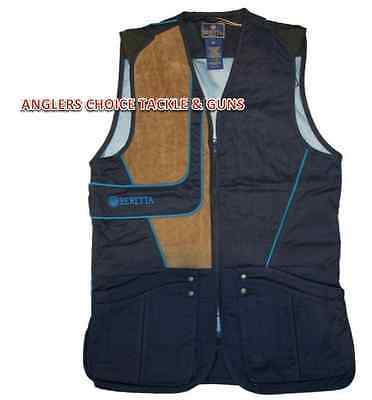Beretta Uniform Skeet Clay Shooting Vest Navy / Blue Excel