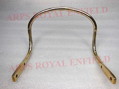 All New Royal Enfield Pure Brass Rear Pillion Seat Handle 141654