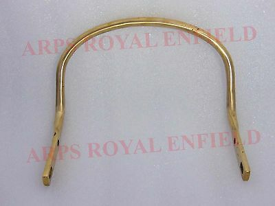All New Royal Enfield Pure Brass Pillion Rear Seat Handle