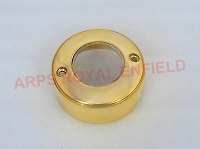 New Royal Enfield Brass Point Distributor Cover With Glass To See The Spark