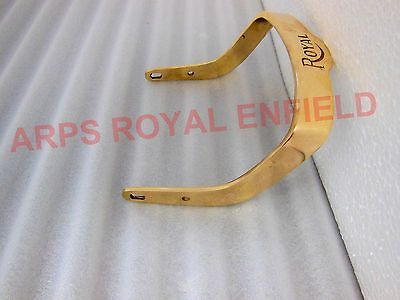 New Royal Enfield Customised Brass Pillion Rear Seat Handle