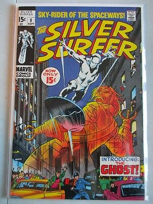 Silver Surfer Vol. 1 (1968-1970) #8 VF+