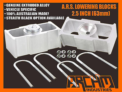 """TOYOTA HILUX 2WD 2005-ON 2.5"""" INCH (63mm) LOWERING BLOCKS (ALL MODELS)"""