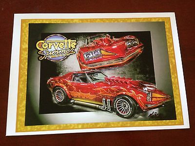 Corvette Summer Signed Print