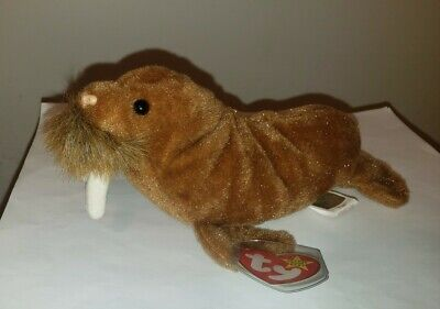 Ty Beanie Baby ~ PAUL the Walrus ~ MINT with MINT TAGS ~ RETIRED