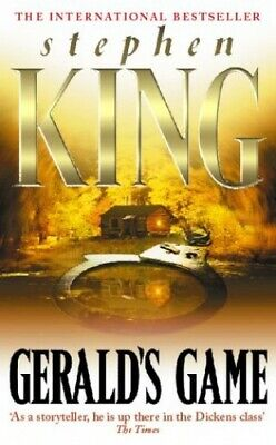 Gerald's Game, King, Stephen Paperback Book The Cheap Fast Free Post
