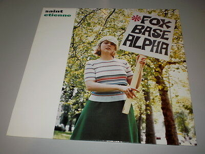 Sain Etienne - Fox Base Alpha - Rare Lp Made In Uk - 1991 - Heavenly Records -