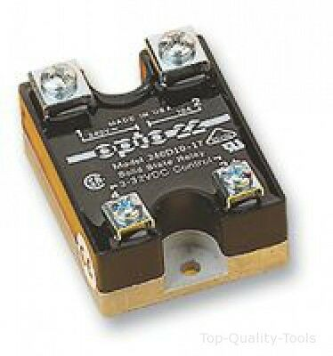 Solid State Relay, 3 A, 280 VAC, Panel, Screw, Zero Crossing