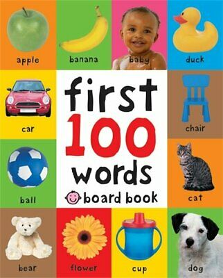 First 100 Words (Soft to Touch Board Books) (First... by Roger Priddy Board book