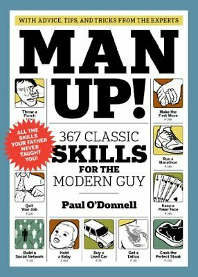 Man Up! by Paul O'Donnell Paperback Book The Cheap Fast Free Post