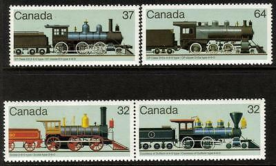 "Canada MNH 1984 Stamp Exhibition ""MONTREAL 1984"" - Railway Locomotives"