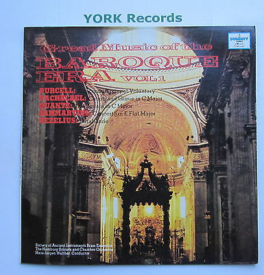 SUM 1042 - GREAT MUSIC OF THE BAROQUE ERA VOL 1 - WALTHER - Ex Con LP Record