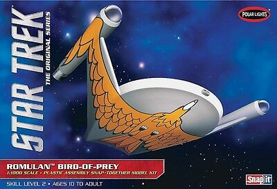 Polar Lights 1:1000 Star Trek Romulan Bird of Prey Model Kit PLL934 POL934