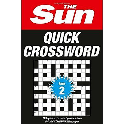 The Sun Quick Crossword Book 2 - Paperback NEW The Sun (Author 2015-06-04
