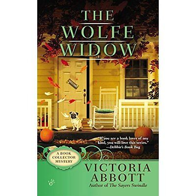 The Wolfe Widow (Book Collector Mystery) - Mass Market Paperback NEW Victoria Ab
