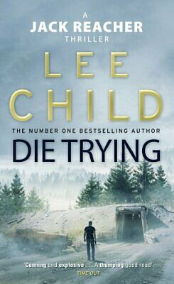 Die Trying by Child, Lee Paperback Book The Cheap Fast Free Post