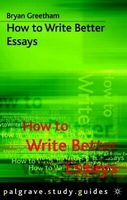 greetham essay And presentation a university-level history essay may be defined as an  extended argument supported  bryan greetham, how to write better essays,  2nd ed.