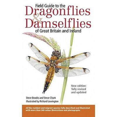 Field Guide to the Dragonflies & Damselflies of Great B - Paperback NEW Steve Br