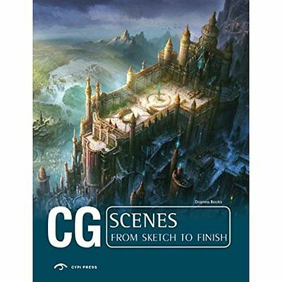 CG Scenes: From Sketch to Finish (Cg from Sketch to Fin - Paperback NEW Dopress