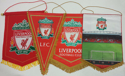 Official Various Liverpool FC Pennant Wall Flag
