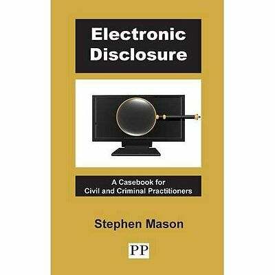 Electronic Disclosure - A Casebook for Civil and Crimin - Hardcover NEW Stephen