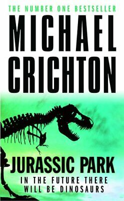 Jurassic Park by Michael Crichton Paperback Book The Cheap Fast Free Post