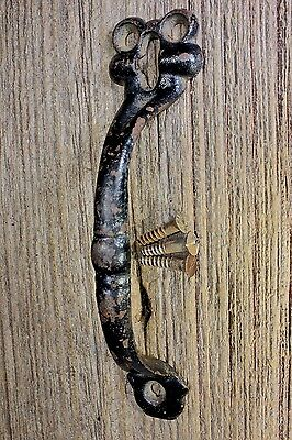 "6 3/4"" Thumb Latch screen handle attic door pull old barn shabby vintage 1800's"