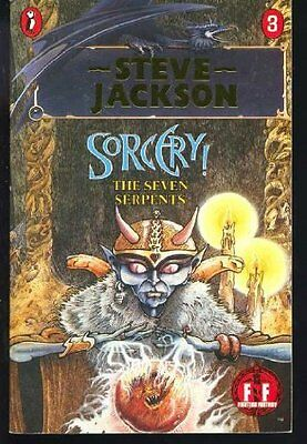 Sorcery! The Seven Serpents, Jackson, Steve Paperback Book The Cheap Fast Free