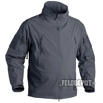 Helikon Tex Trooper Jacket Soft Shell Shadow Grey Outdoor Jacke