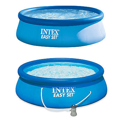 Intex 13ft x 33in Easy Set Swimming Pool supplied with OR without a Filter Pump
