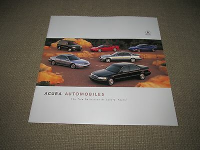Acura Automobiles Sales Brochure 1998 Color Illustrated MAKE AN OFFER