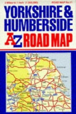 A. to Z. Road Map of Yorkshire and ... by Geographers' A-Z Map Sheet map, folded