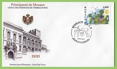 Monaco 2011 Renewable Energy First Day Cover