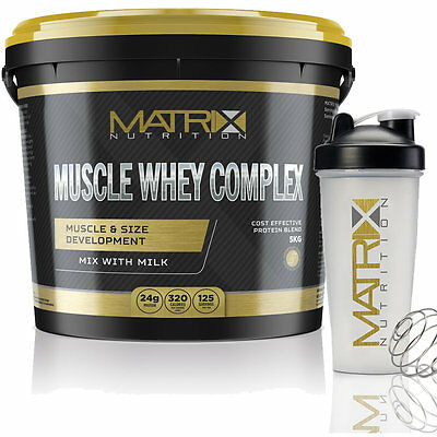 Matrix Muscle Whey Complex - Optimum Protein Shake - All Flavours - All Sizes