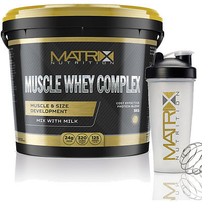Whey Protein- Muscle Gain- Muscle Whey Complex By Matrix Nutrition