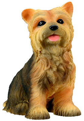 Adorable Yorkie ! Yorkshire Terrier Dog Figurine. Lifelike Puppy Pup Gift 6324 S