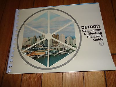 Detroit Convention & Meeting Planners Guide Hotels