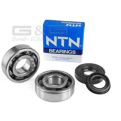 Crankshaft Bearings Set Aprilia SR CPI Aragon Yamaha Aerox 50cc