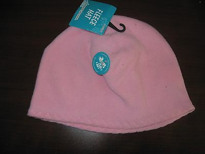 Womens  Fleece Beanie  Hat  One Size New With Tags